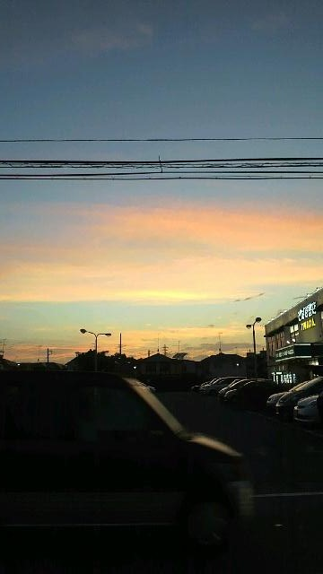 pinkな夕方の空①.jpg